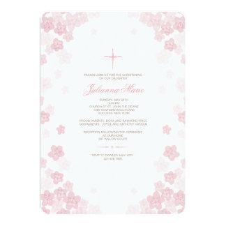 Blasse Blumen-religiöse Einladung