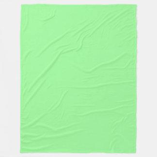 Blasser er-grün (hellgrüner) Pastellnormallack Fleecedecke