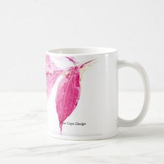 Blatt-Druck Kaffeetasse