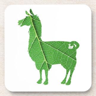 Blatt-Lama-Untersetzer Untersetzer