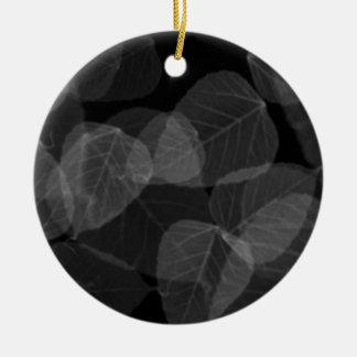 Blatt-Röntgenstrahl Keramik Ornament