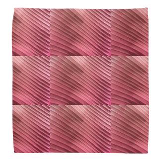 Blatt-rote Diagonale Halstücher