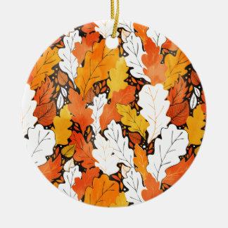 Blätter Keramik Ornament