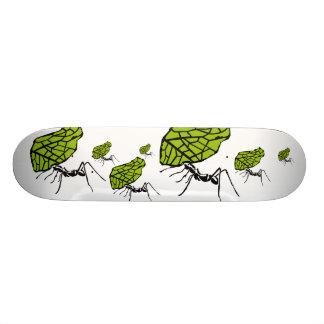 Blattschneideameise Natur Stencil Bedruckte Skateboarddecks