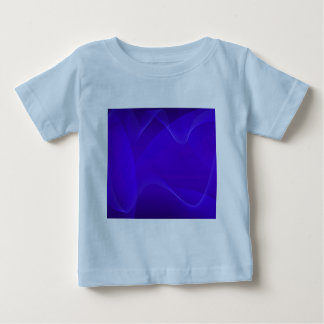 Blau bewegt I wellenartig Baby T-shirt