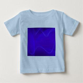 Blau bewegt I wellenartig Hemd