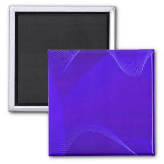 Blau bewegt I wellenartig Magnets