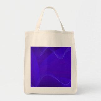 Blau bewegt IV wellenartig Einkaufstaschen