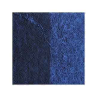 blau galerie gefaltete leinwand