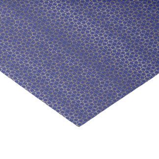 Blau-u. Goldstern-Arabeske-Muster Seidenpapier