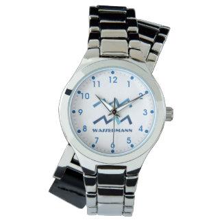Blau Wassermann Wassermann-Tierkreis Uhr