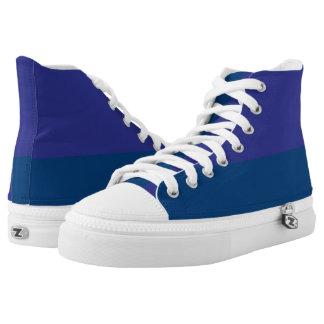 Blaubeerduell I Hallo-Spitze Hoch-geschnittene Sneaker