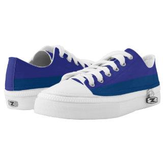 Blaubeerduell I Zwei-Ton Lo-Spitze Niedrig-geschnittene Sneaker