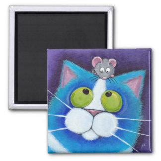 Blaubeere und kleiner Mousey Magnet