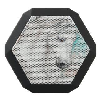 Blaue andalusische Pferde Schwarze Bluetooth Lautsprecher