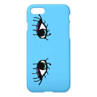 Blaue Augen iPhone Fall iPhone 8/7 Hülle