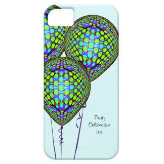 Blaue Ballone iPhone 5 Schutzhüllen
