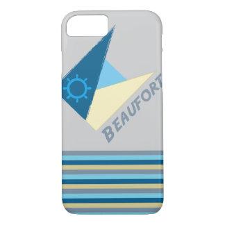 Blaue Bewegung durch das Shirt zum zu entwerfen iPhone 7 Hülle