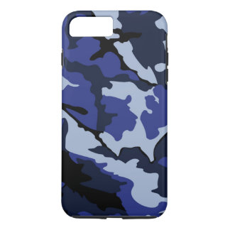 Blaue Camouflage, starke iPhone 7 Plusfall iPhone 7 Plus Hülle