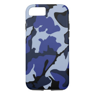 Blaue Camouflage, starker iPhone 7 Fall iPhone 8/7 Hülle