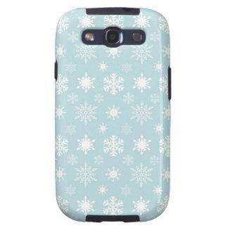 Blaue Case-Mate-Abdeckung Schneeflocke-Samsungs-Ga Etui Fürs Samsung Galaxy S3