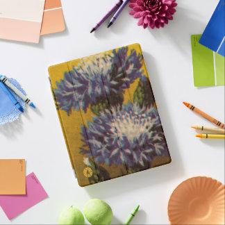 Blaue Chrysantheme iPad Hülle