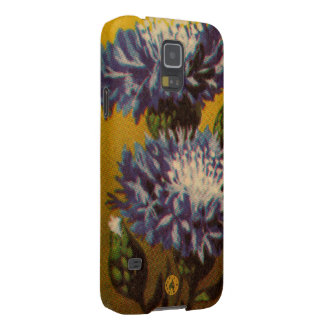 Blaue Chrysantheme Samsung Galaxy S5 Hüllen