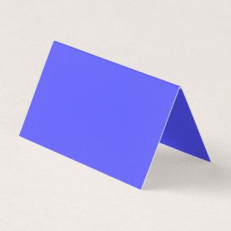 Blaue Farbe wahrheitsgemäß inspirieren Visitenkarten