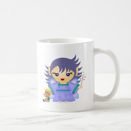 Blaue Fee Kaffeetasse