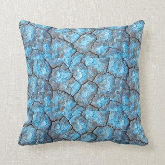Blaue Felsen-Wurfs-Kissen Zierkissen
