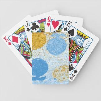 blaue Fische Bicycle Spielkarten