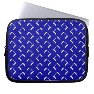 Blaue Fußball-Laptop-Hülse 10 Zoll Laptopschutzhülle