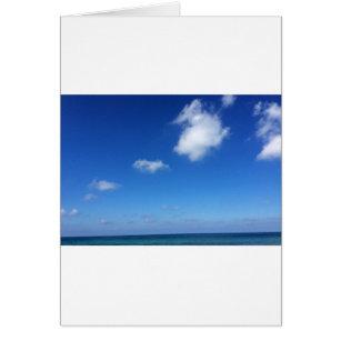 Blaue Himmel in Cozumel