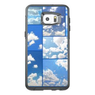 Blaue Himmel-u. Weiß-Wolken-Collage
