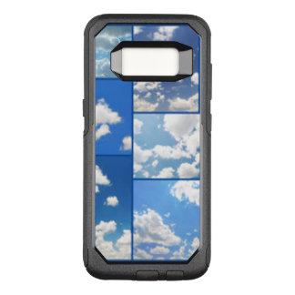 Blaue Himmel-u. Weiß-Wolken-Collage OtterBox Commuter Samsung Galaxy S8 Hülle