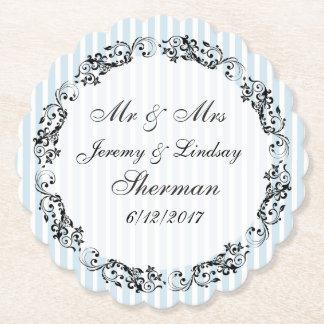 Blaue Hochzeits-personalisierter