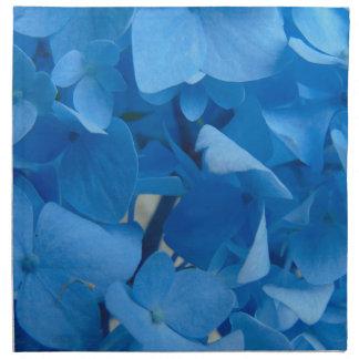 Blaue Hydrangeas Serviette