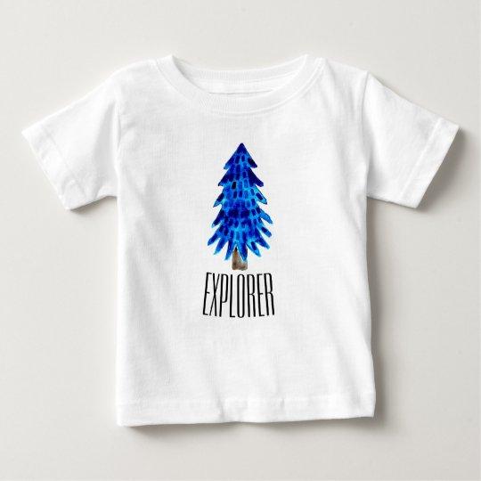 Blaue Kiefer Baby T-shirt