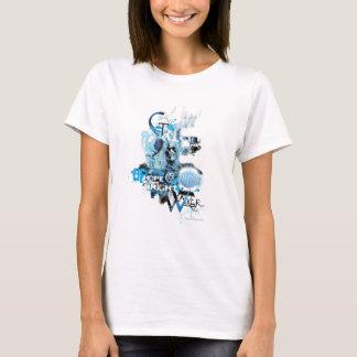 Blaue Laternen-Grafik 1 T-Shirt