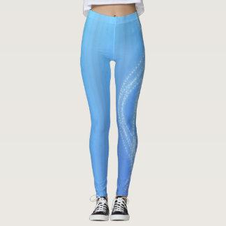 Blaue Lichter Leggings