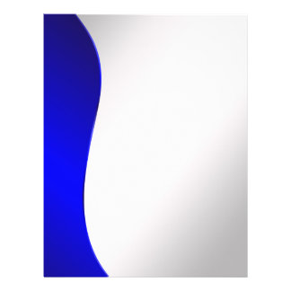 Blaue Linie der Hintergrund-Marine auf angeredetem Flyer