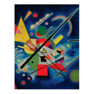 Blaue Malerei von Wassily Kandinsky Postkarte