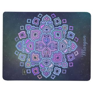 Blaue Mandala Taschennotizbuch