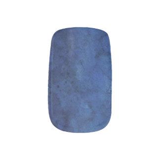 Blaue Marmorhochzeit Minx Nagelkunst