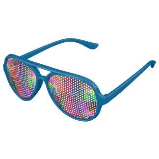 Blaue mehrfache FarbParty-Flieger-Sonnenbrillen Piloten Sonnenbrillen