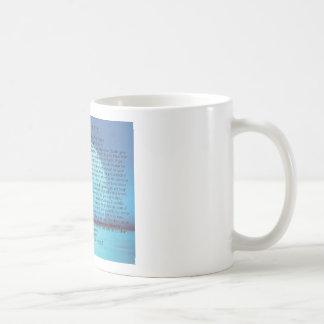 Blaue Moon=Desiderata Kaffee Mug=Daily Inspiration Kaffeetasse
