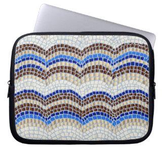 """Blaue Mosaik-Laptop-Hülse 10"""" Laptopschutzhülle"""