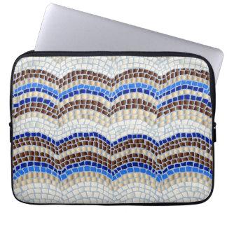 """Blaue Mosaik-Laptop-Hülse 13"""" Laptopschutzhülle"""