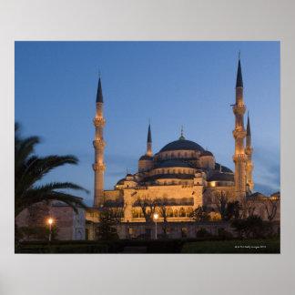 Blaue Moschee, Sultanhamet Bereich, Istanbul, die Poster