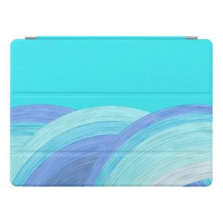 Blaue Ozeanwellen iPad Pro Hülle